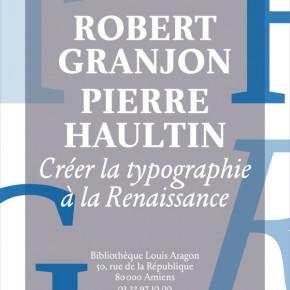 Créer la typographie à la Renaissance
