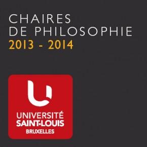 Chaires de philosophie 2013 - 2014