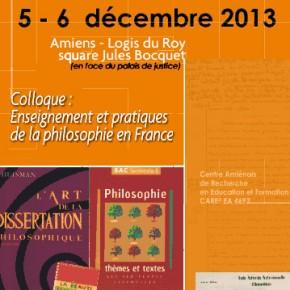 Enseignement et pratiques de la philosophie en France