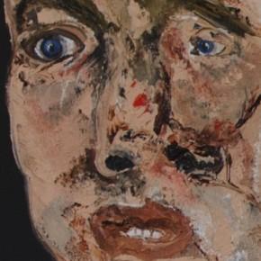 L'homme désespécé – tête et corps –: ensemble d'une picturalité organique
