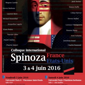 Colloque international Spinoza France/Etats-Unis (vidéos)