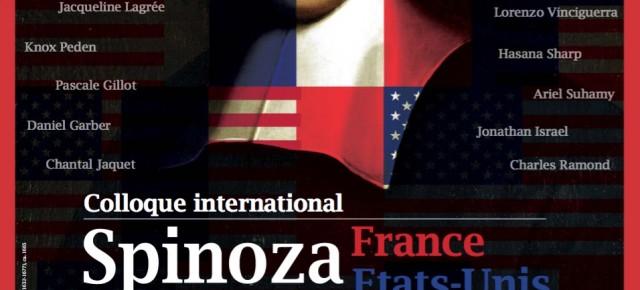 Colloque international Spinoza France/Etats-Unis (vidéos)